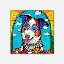 Benny the Border Collie Sticker