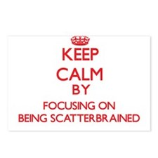 Being Scatterbrained Postcards (Package of 8)