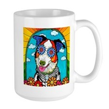Benny The Border Collie Mugs