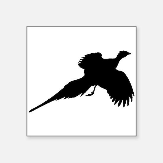 Pheasant Silhouette Sticker