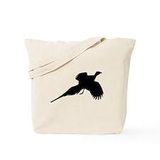 Pheasant Silhouette Tote Bag