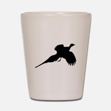 Pheasant Silhouette Shot Glass