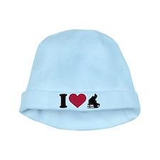 I love sledge sleigh baby hat