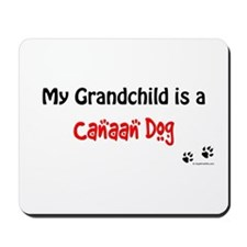 Canaan Dog Grandchild Mousepad