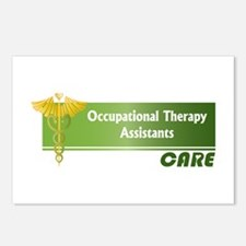Occupational Therapy Assistants Care Postcards (Pa