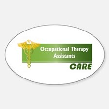 Occupational Therapy Assistants Care Decal