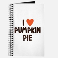 I Love Pumpkin Pie Heart Journal