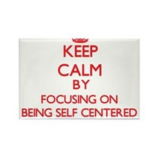 Being Self-Centered Magnets
