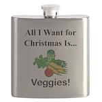 Christmas Veggies Flask