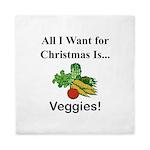 Christmas Veggies Queen Duvet
