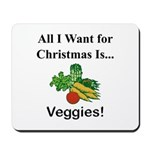 Christmas Veggies Mousepad