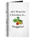 Christmas Veggies Journal