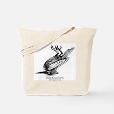 Flip Bird Tote Bag