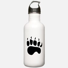 Bear Paw Silhouette Water Bottle