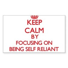 Being Self-Reliant Decal