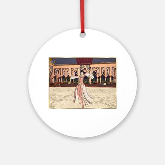 Best Seller Bellydance Ornament (Round)