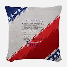 ABH Timeline 1776 Woven Throw Pillow