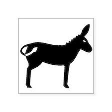 Mule Silhouette Sticker