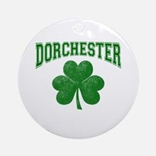 Dorchester Irish Ornament (Round)