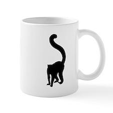 Lemur Silhouette Mugs