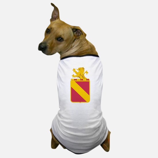 35 Field Artillery Regiment.psd.png Dog T-Shirt