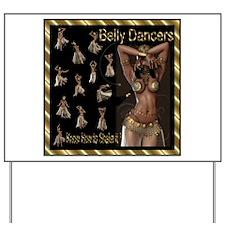 Best Seller Bellydance Yard Sign
