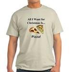 Christmas Pizza Light T-Shirt