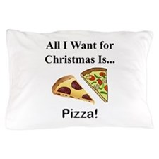 Christmas Pizza Pillow Case