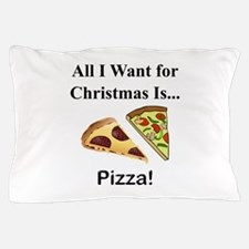 Christmas Pizza Pillow Case
