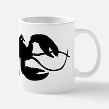 Lobster Silhouette Mugs