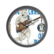 Chase On Bass Wall Clock