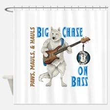 Chase On Bass Shower Curtain