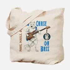 Chase On Bass Tote Bag