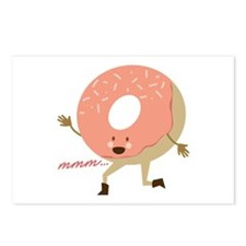 MMM Doughnut Postcards (Package of 8)