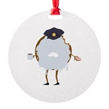 Cop Donut Ornament
