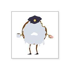 Cop Donut Sticker