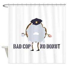 No Donut Shower Curtain