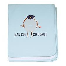 No Donut baby blanket