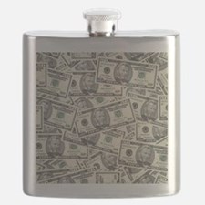 Collage of Currency Flask