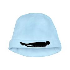 Luge symbol baby hat