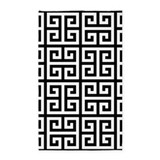 Classy greek key 3x5 Rugs