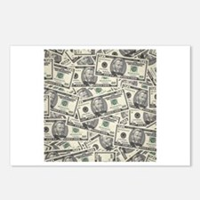 Collage of Currency Postcards (Package of 8)