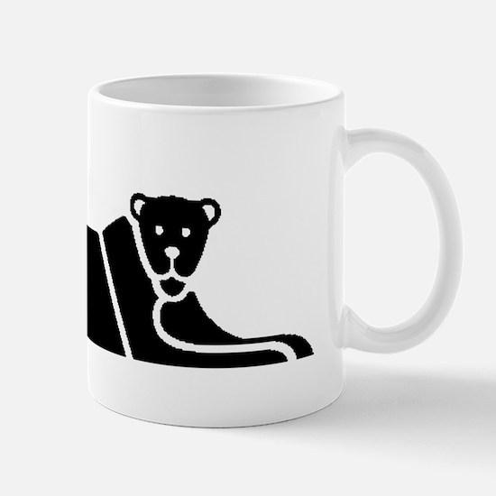 Panther Silhouette Mugs