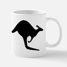 Kangaroo Silhouette Mugs