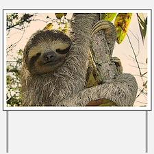 Sloth Yard Sign