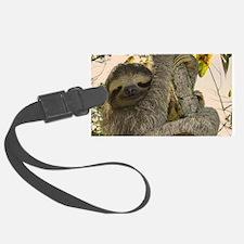Sloth Luggage Tag