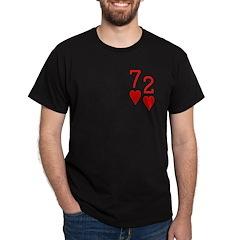 Beer Hand 7-2 Seven Deuce Poker Shirt T-Shirt