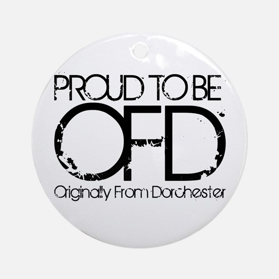 Proud To Be OFD Ornament (Round)