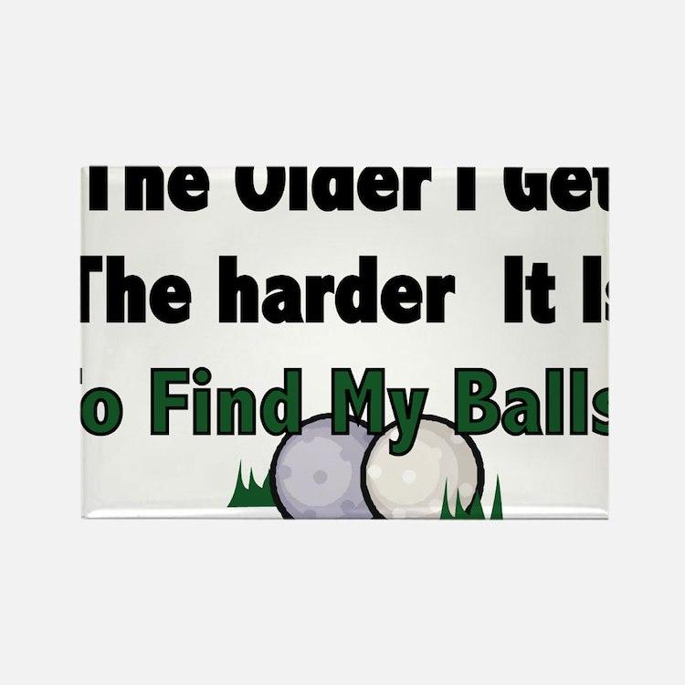 Cute Golf humor Rectangle Magnet