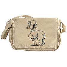 Blue Bedlington Rosie Messenger Bag